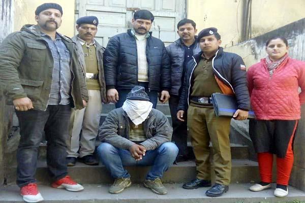 उद्घोषित अपराधी चढ़ा पुलिस के हत्थे, इस मामले में चल रहा था फरार
