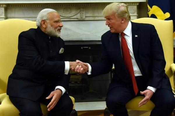 ट्रंप ने की मोदी की तारीफ, बोले- भारत जैसे देशों के साथ काम करना अच्छी बात