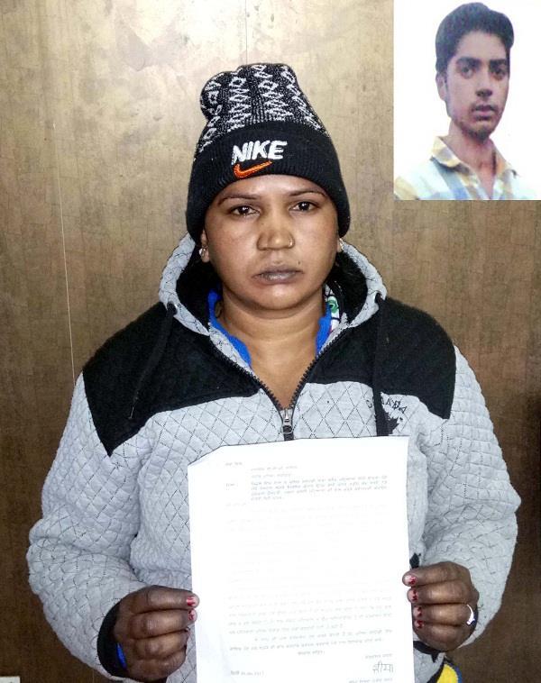 विधवा मां का पुलिस पर आरोप,2 साल पहले कस्टडी में लिए पुत्र का नहीं लगा सुराग