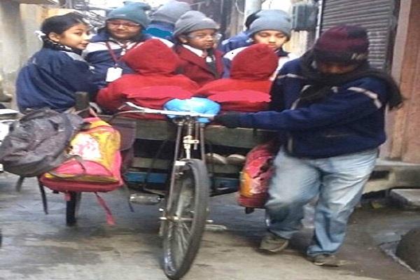 जिले के स्कूलों में मासूमों की सुरक्षा राम भरोसे
