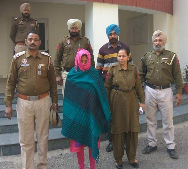 40 किलो गांजे के साथ महिला गिरफ्तार