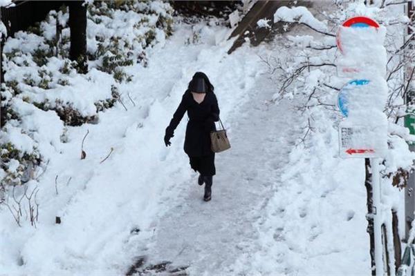 इस देश में दुर्लभ बर्फबारी का टूटा रिकार्ड, बिगड़े हालात (pics)