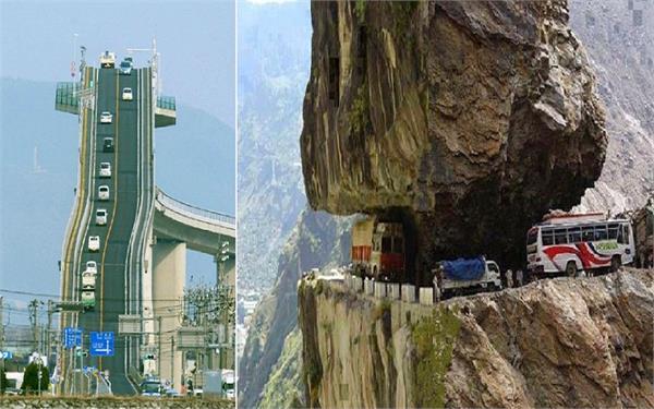 ये हैं दुनिया के सबसे खतरनाक Roads, भूलकर भी न जाएं यहां!