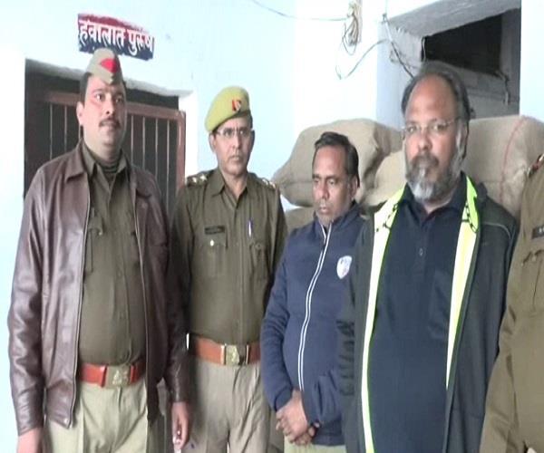 आगरा पुलिस की बड़ी सफलताः 9 क्विंटल 73 किलो गांजे के साथ 2 तस्कर गिरफ्तार
