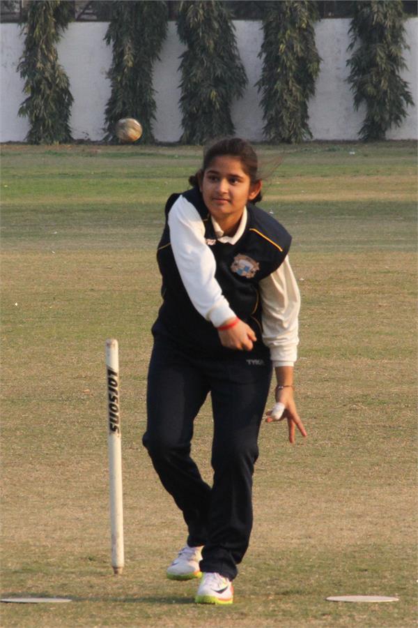 शहर की तान्या भाटिया ने भारतीय महिला क्रिकेट टीम में बनाई जगह
