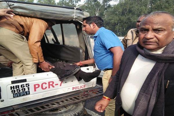 मंत्री कर्णदेव काम्बोज ने दिखाई मानवता, घायल व्यक्ति को पहुंचाया अस्पताल