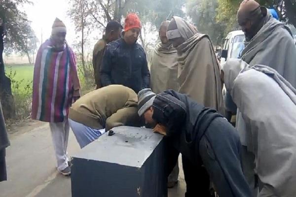ATM चोरी कर कुएं में फेंकने का मामला, दिल्ली पहुंची जांच टीम