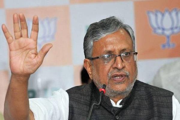 हताश-निराश पार्टी राजद का मंसूबा कभी पूरा नहीं होगाः सुशील मोदी