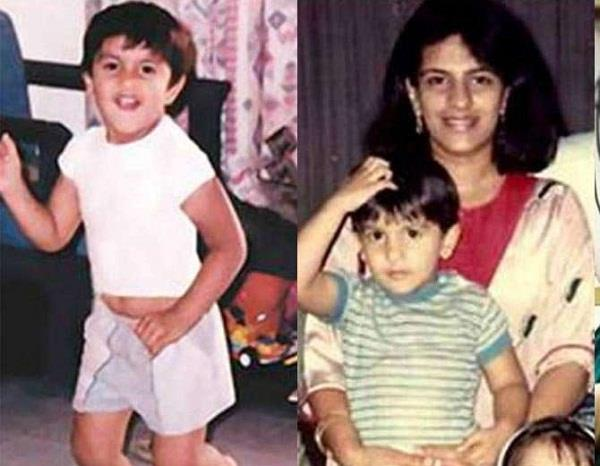 ranveer singh childhood pictures