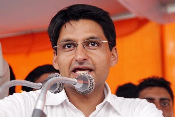 बुद्धिराजा की गिरफ्तारी को दीपेंद्र ने बताया तानाशाही, कहा- यूथ कांग्रेस करेगी प्रदर्शन