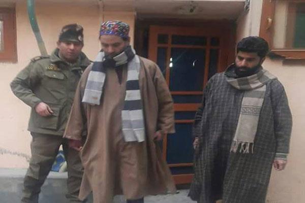 कश्मीर बंद के चलते यासीन मलिक गिरफ्तार