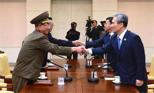 2 साल बाद सबसे खतरनाक जगह पर मिले उत्तर और  दक्षिण कोरिया
