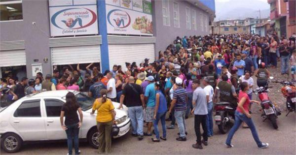 वेनेजुएला में खाने को लेकर दंगे, 4 की मौत