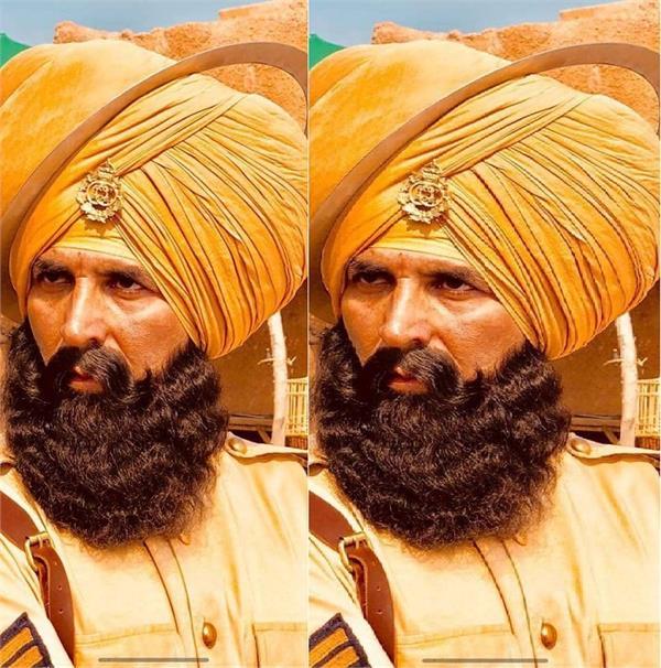 अक्षय कुमार की फिल्म 'केसरी' का पहला लुक आया सामने