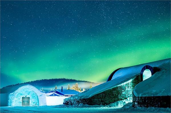बर्फ से बना है स्वीडन का यह शानदार Hotel, तापमान जमा देता है कुल्फी