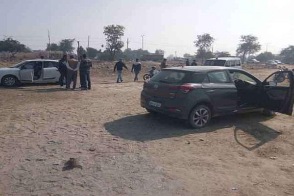 पुलिस व बदमाशों के बीच मुठभेड़ में चली गोलियां, एक घायल