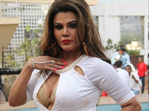 rakhi sawant wrote a disgusting caption on a photo