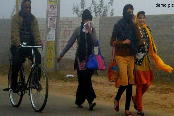 पंजाब में शीत लहर जारी, आदमपुर सबसे ठंडा