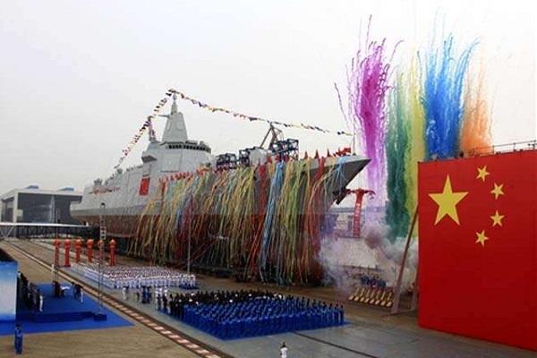नई तरह का नौसेना विध्वंसक बना रहा चीन