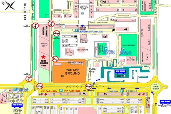 गणतंत्र दिवस : ट्रैफिक मैप को देख निकलें घर से बाहर, यहां बैन हुई एंट्री