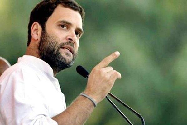 राहुल का PM मोदी पर कटाक्ष, बोले- खुद को आम बताने वाले खास को लगाते हैं गले