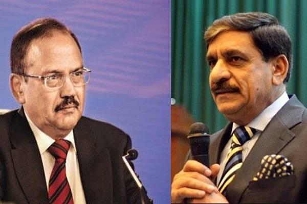 भारत, पाक के राष्ट्रीय सुरक्षा सलाहकारों के बीच हुई 'सीक्रेट मीटिंग'