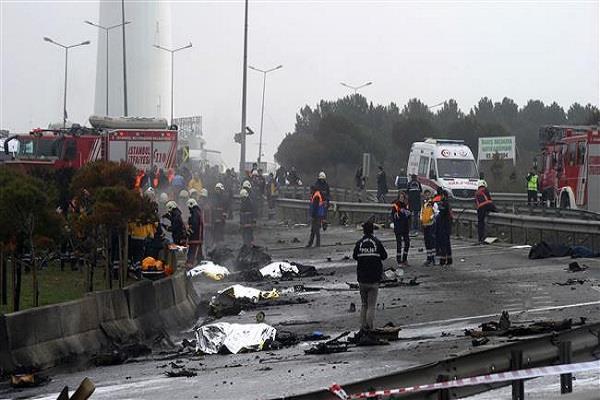तुर्की में मालवाहक विमान दुर्घटनाग्रस्त, 3 सैनिकों की मौत