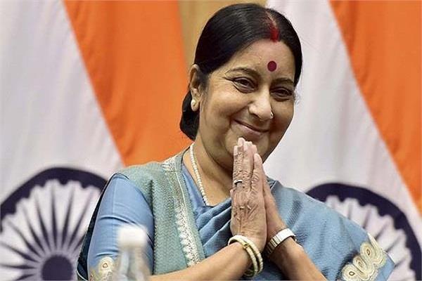 एयरपोर्ट पर बेटे के शव के साथ फंसी मां ने लगाई गुहार, सुषमा स्वराज ने की मदद