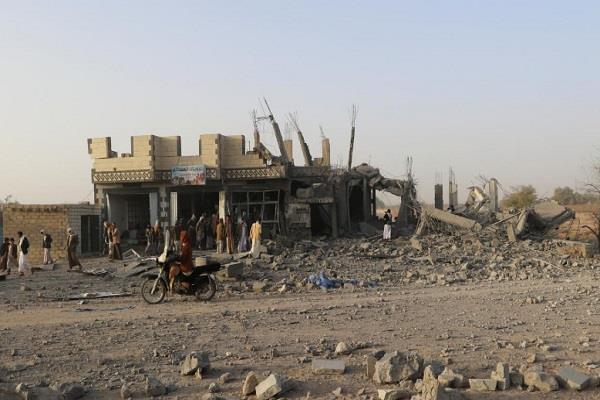 यमन में सऊदी नीत हवाई हमलों में 7 लोगों की मौत