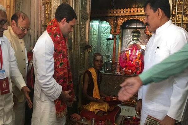 मंदिर जाने पर राहुल गांधी ने कही ये बात, येदियुरप्पा बोले-स्वागत है