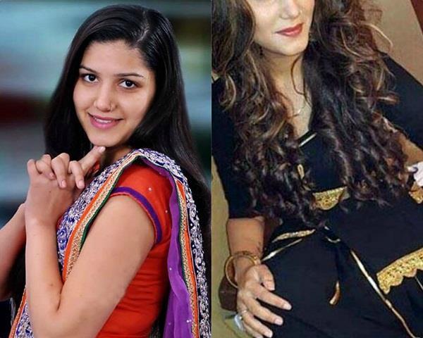 sapna chaudhary new look