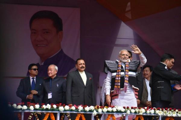 अरुणाचल प्रदेश में बोले पीएम मोदी, यहां के विकास की रोशनी से चमकेगा पूरा देश