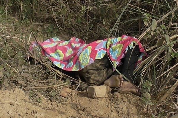 उज्जलमाजरी गांव से 30 वर्षीय महिला का शव खेत से बरामद, पुलिस जांच जारी