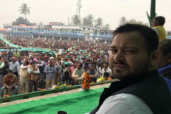तेजस्वी न्याय यात्रा के दौरान पहुंचे अररिया, कहा- BJP से लड़ने के लिए हम तैयार हैं
