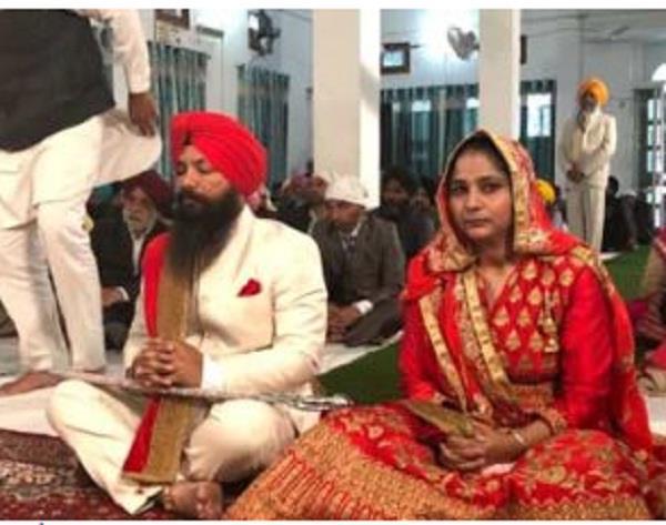 आप विधायक पिरमल सिंह विवाह बंधन में बंधे
