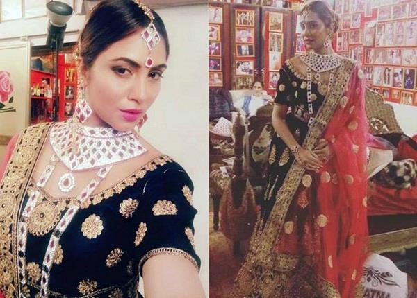 arshi khan bridal look