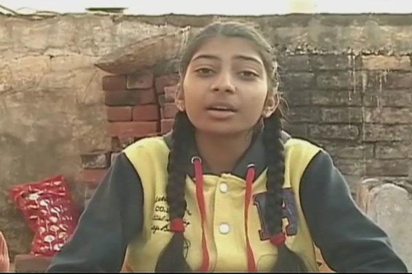 शहीद जवान की बेटी ने महबूबा पर निकाला गुस्सा, कहा मुफ्ती को तो सिर्फ कश्मीर दिखता है