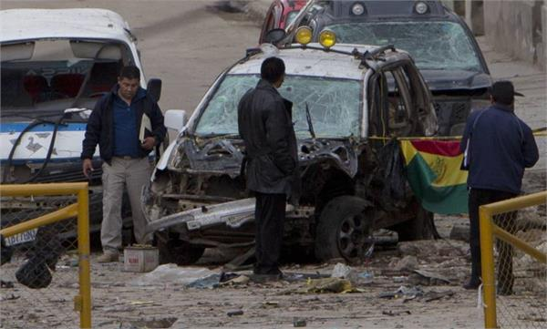 बोलिविया बम धमाके में 4 लोगों की मौत