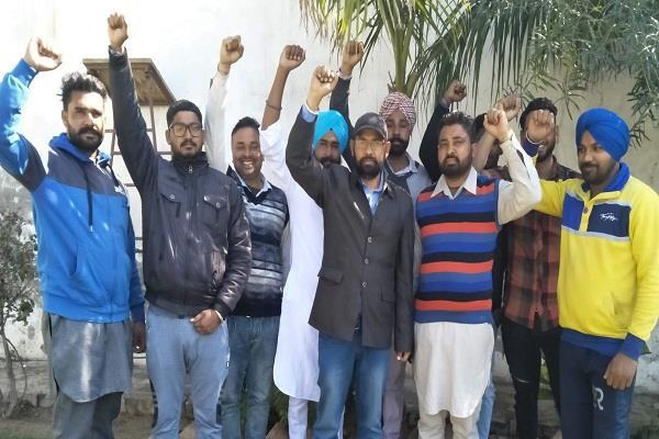 ठेका मुलाजिम 17 से चंडीगढ़ में करेंगे भूख हड़ताल