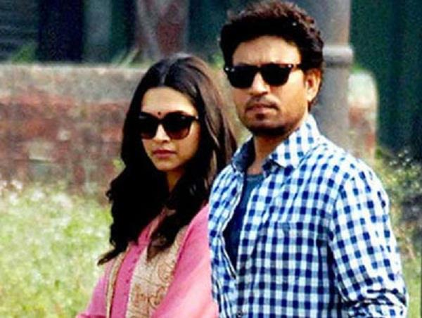 deepika padukone and irrfan khan movie delayed