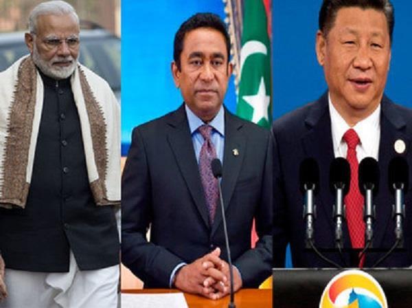 अब मालदीव को लेकर भारत-चीन में जद्दोजहद
