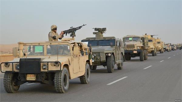 मिस्र सेना ने तोड़ी आंतकियों की कमर, 12 और आतंकी ढेर