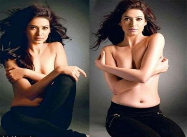 naagin actress aashka goradia kissing pose with husband brent goble viral