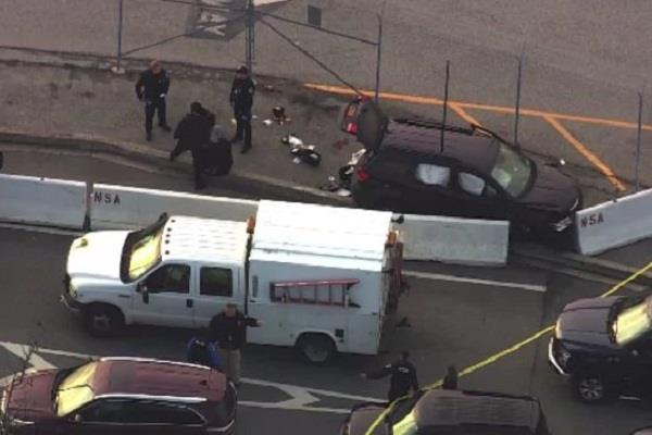 अमरीकी राष्ट्रीय खुफिया एजेंसी मुख्यालय के बाहर हुई गोलीबारी