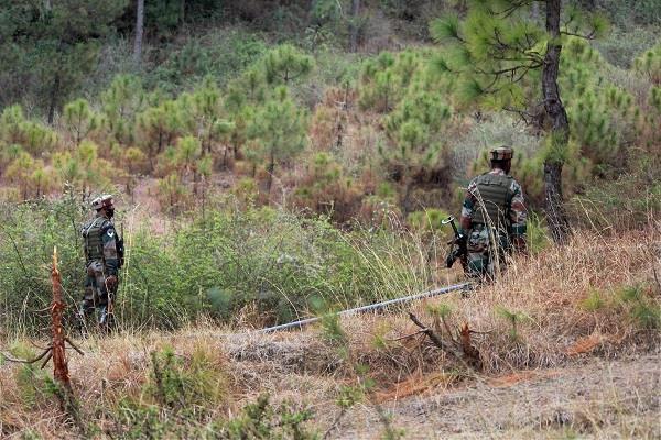 भारतीय सेना ने जम्मू-कश्मीर में पाकिस्तानी चौकी की नष्ट