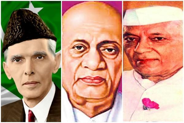 देश के विभाजन के लिए नेहरू व पटेल को दोष नहीं देना चाहिए