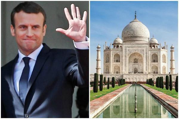 आज आगरा जाएंगे फ्रांस के राष्ट्रपति, करेंगे ताज महल के दर्शन