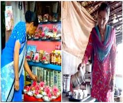 CM योगी ने राजनीति में नहीं होने दिया परिवार को हावी, बहन आज भी बेचती है चाय