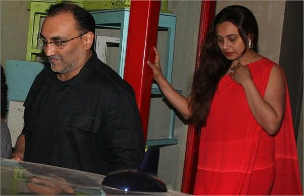 rani mukhrjee aditya chopra first date