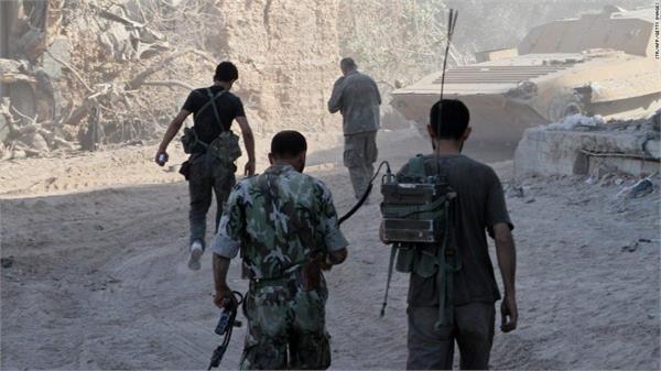 पूर्वी घोउता शहर में सीरियाई सेना का अभियान तेज
